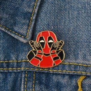 Jewelry - Deadpool pin